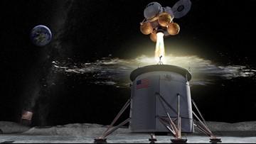 NASA picks Alabama's 'Rocket City' for lunar lander job
