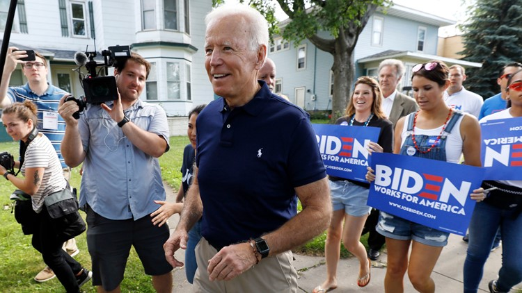 Election 2020 Joe Biden July 4