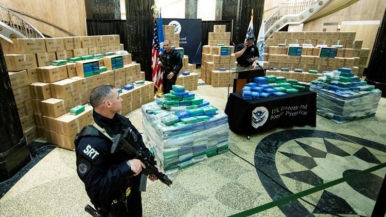 Huge Cocaine Seizure