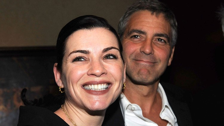 Julianna Margulies Shares Throwback Snap With 'Dear Friend' George Clooney in Honor of His 60th Birthday