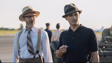 'Project Blue Book' Season 2: Aidan Gillen and Michael Malarkey on Roswell, Area 51 and #HyneQuinn (Exclusive)