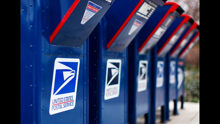 Postal workers targeted cash donations to the Breast Cancer Research and Support Fund and donations for veterans and police officers.
