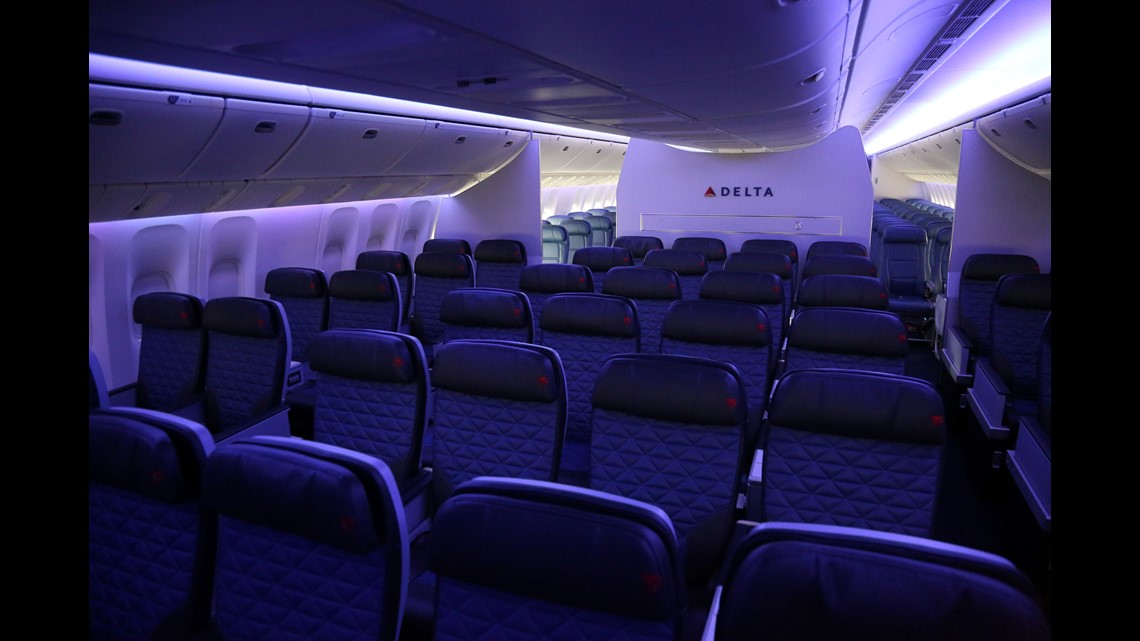 First look: Delta shows off first Boeing 777 retrofitted