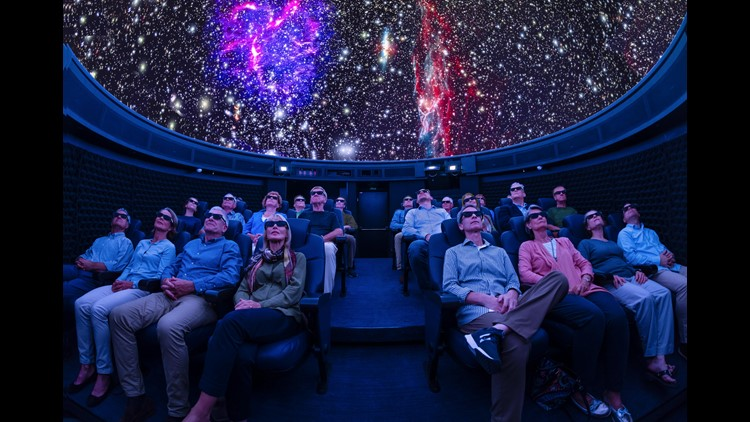 A new Viking Cruises ship debuting this week in Europe has a surprise feature: A high-tech planetarium. The 26-seat attraction at the top of the 930-passenger Viking Orion had been kept a secret while the vessel was under construction.