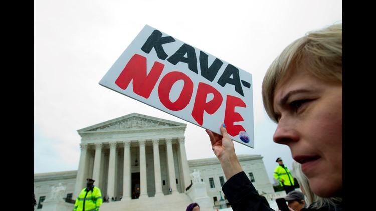 Live stream: '#CancelKavanaugh' protest on Capitol Hill