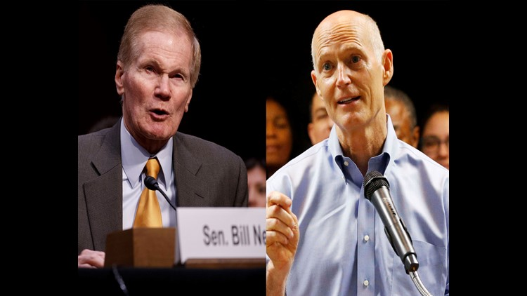 The planned Senate debate between Incumbent Bill Nelson and Republican Rick Scott has been postponed due to Hurricane Michael. No new date set yet.
