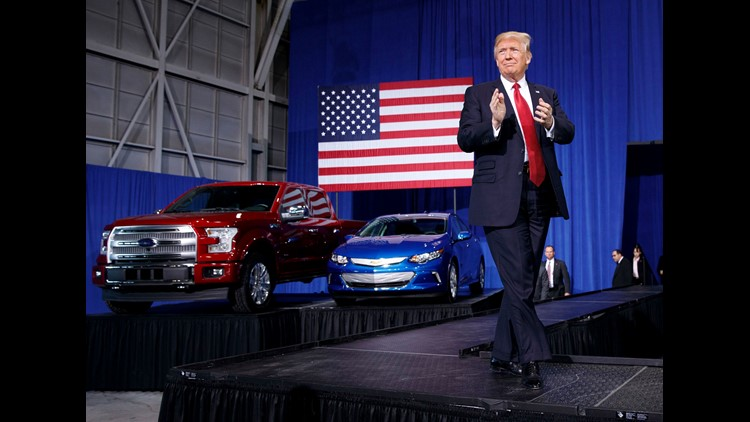 Despite Trump's tweet, Ford says it won't make hatchback in U.S.