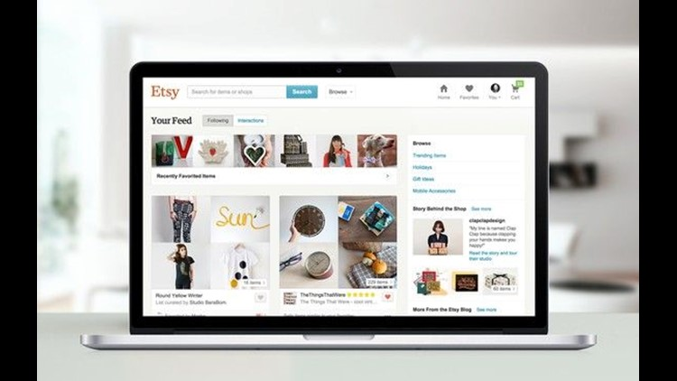 Etsy said it's increasing the percentage it takes when a shop makes a sale. We spoke with a few of its nearly 2 million sellers and they're not happy.