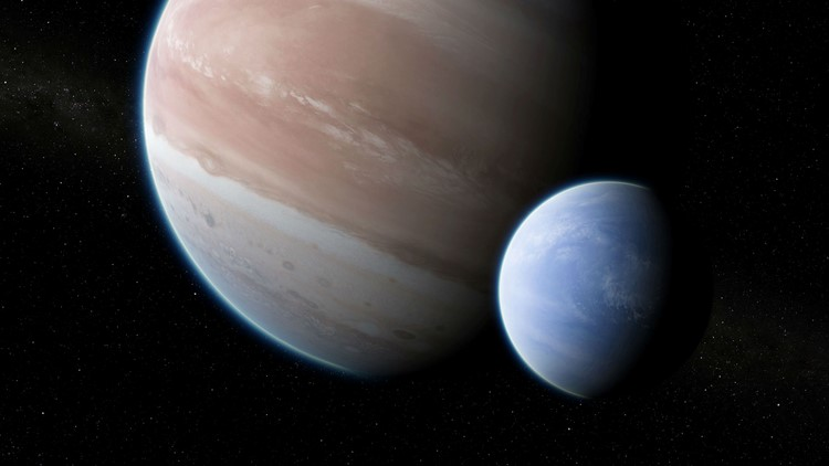 """Astronomers may have discovered the first """"exomoon"""" – a moon outside our own solar system"""
