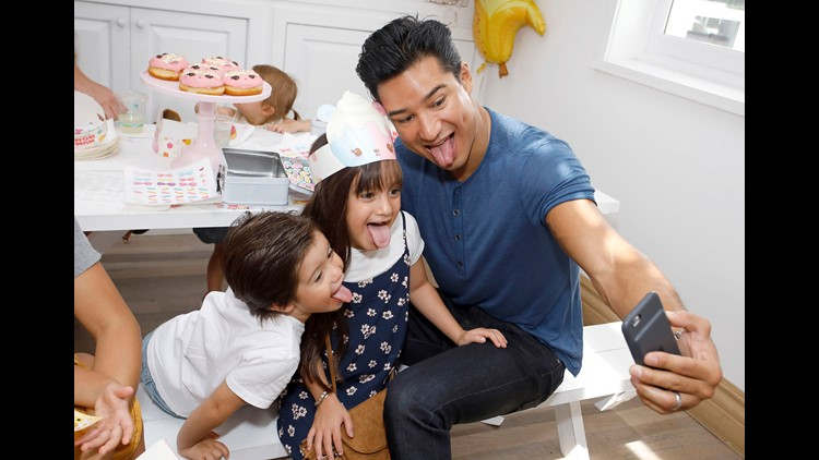 Mario Lopez S Kids Reveal Hysterical Secret About Their Dad