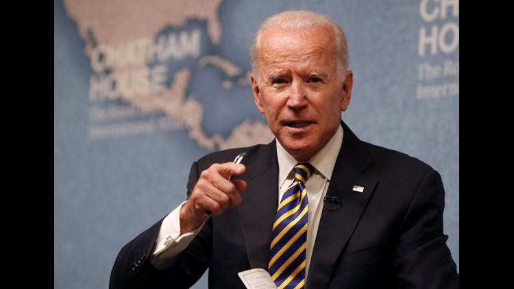 Former Vice President Joe Biden said he has not made up his mind on whether to challenge Donald Trump for the presidency in 2020.