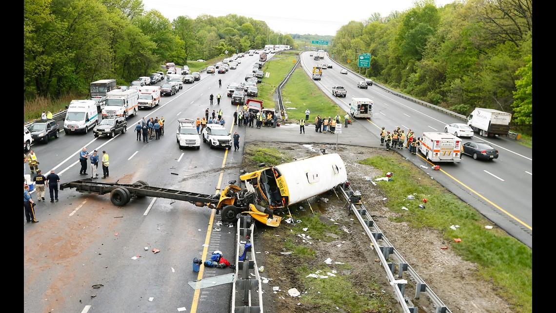9news.com | Why was Paramus school bus crash so violent? Buses ...