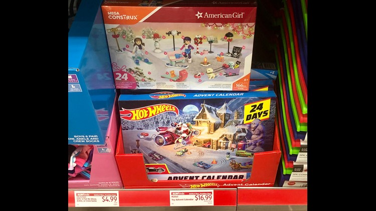 Aldi toy Advent calendar