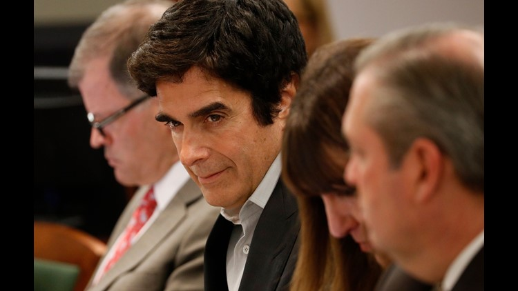 Lawsuit leads to revelations about david copperfields act 9news ap david copperfield lawsuit a ent usa nv m4hsunfo
