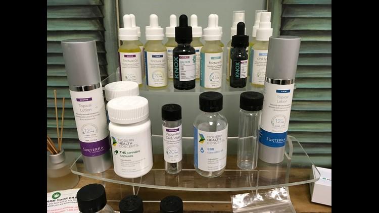 Medical marijuana products.JPG