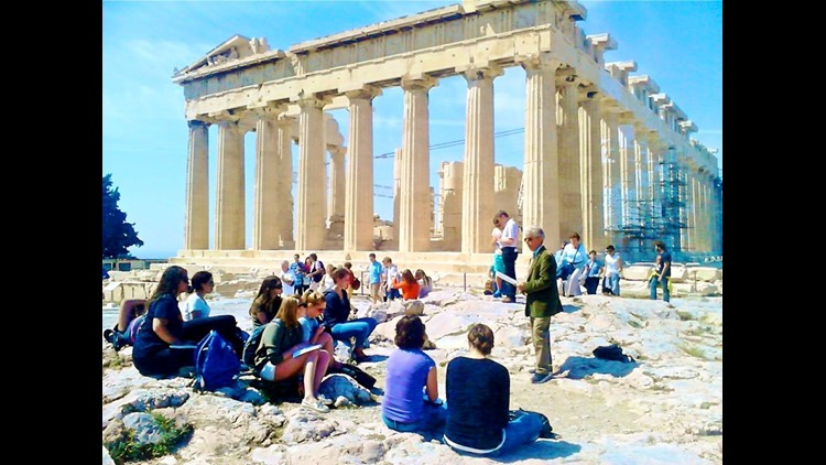 Acropolis Of Athens And Other Key Sites To Close Oct 11 Due To