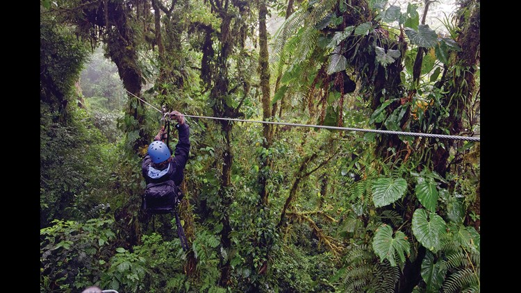 Costa Rica eco tourism DON'T OVERWRITE