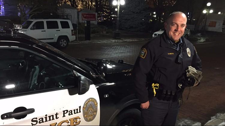 St. Paul police officer Eric Reetz