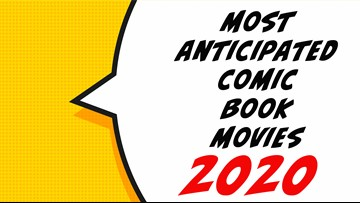 Most anticipated comic book movies of 2020