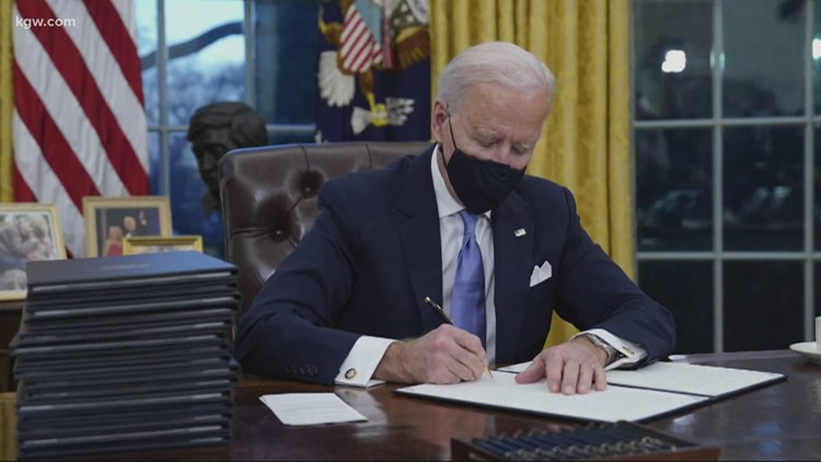 Biden's climate plan could have big impacts on energy, auto industries