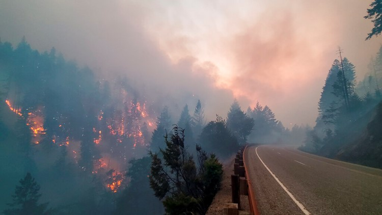 When wildfires erupt in the west, their impacts can be felt far and wide