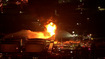 WATCH LIVE | At least 8 chemical storage tanks on fire at Houston area business