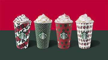 Starbucks holiday cups return this week