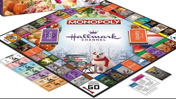 You can now buy a Christmas Hallmark Channel-themed version of Monopoly