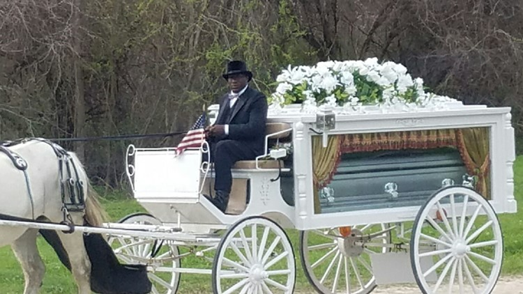 Horse-drawn carriage will carry George Floyd to his final resting place Tuesday