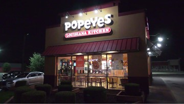 Man pulls gun on Popeyes employees after learning they're out of chicken sandwiches, police say
