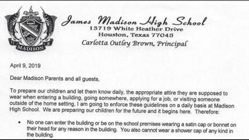No pajamas, no shower caps: Houston high school enforces 'parent dress code'