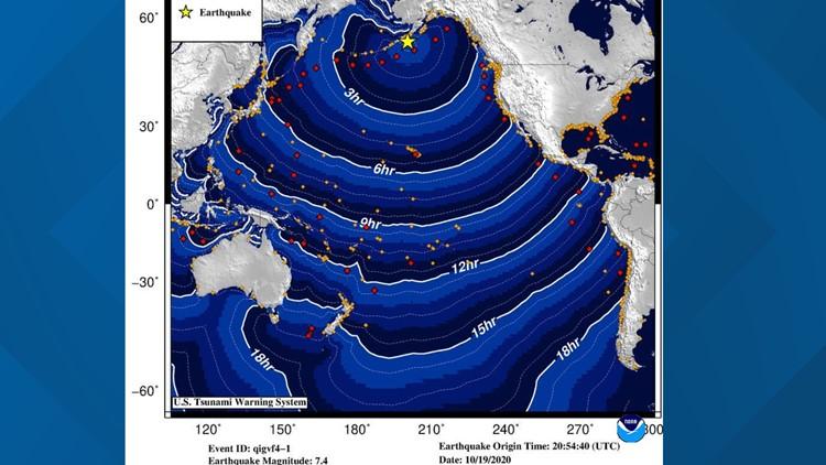 No tsunami threat to Washington coast after 7.5 Alaska earthquake