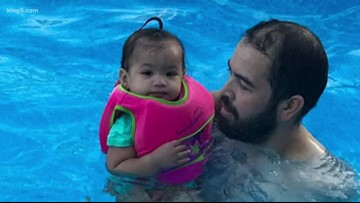 Washington state family shares warning after toddler found at bottom of pool