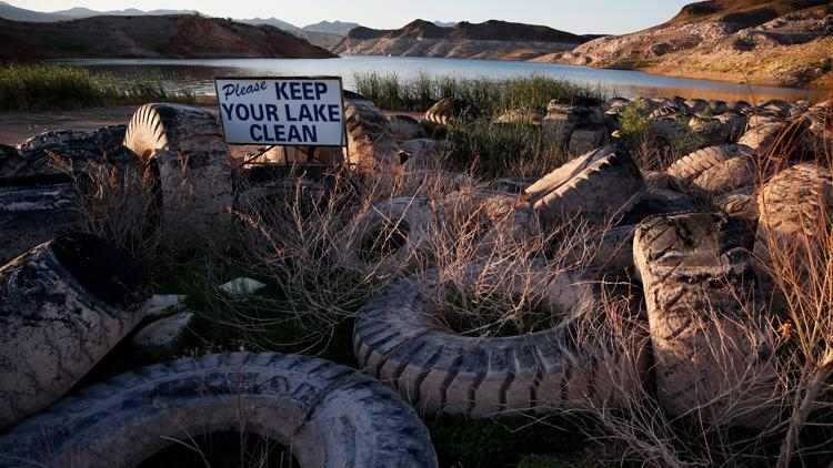 Receding waters: Why a once-thriving resort on Lake Mead has all but disappeared