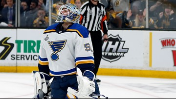 Blues blow two goal lead in Game 1 of Stanley Cup Final, fall to Bruins