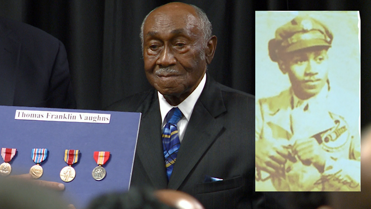 99-year-old WWII veteran awarded five overdue medals