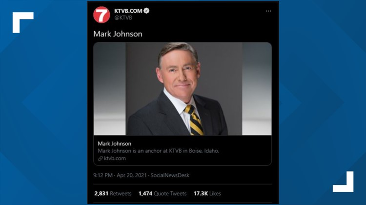 Who is Mark Johnson? The story behind the viral tweet