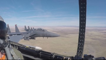 Idaho residents sue the Air Force over proposed training above cities
