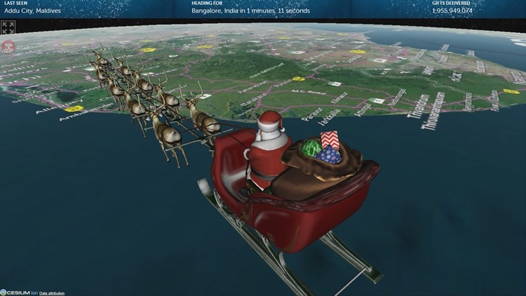 NORAD Tracker: How to track Santa Claus this Christmas