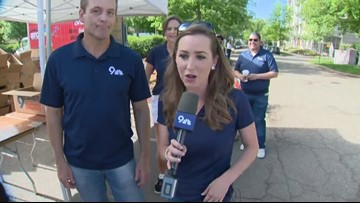 The 9NEWS morning crew (and Kathy Sabine) explains why you should stop by 9Cares