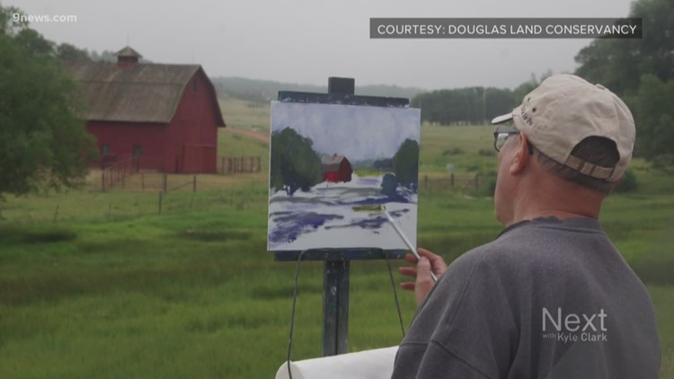 Artists from around the country will paint Douglas County landscapes to help save open space