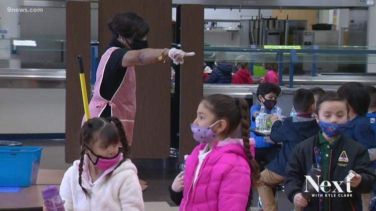 Northglenn principal inspired by former substitute teacher, turned cafeteria volunteer