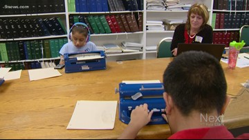 22 Colorado students competed in a unique challenge: reading and writing in Braile