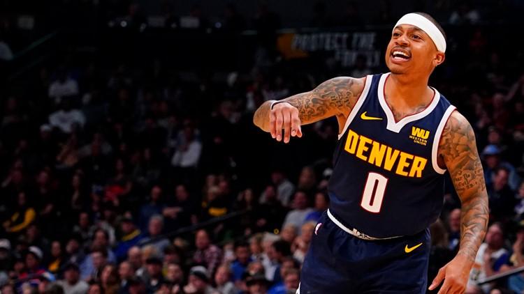 Denver Nuggets guard Isaiah Thomas  AP