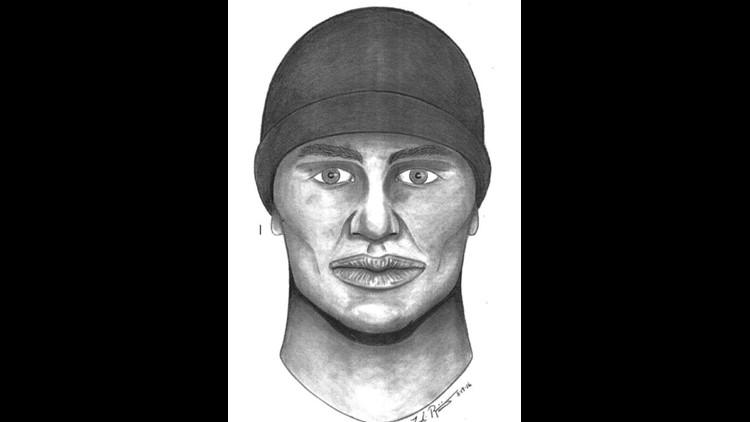 A sketch of suspect in the killing of Jaime Villarreal Jr.