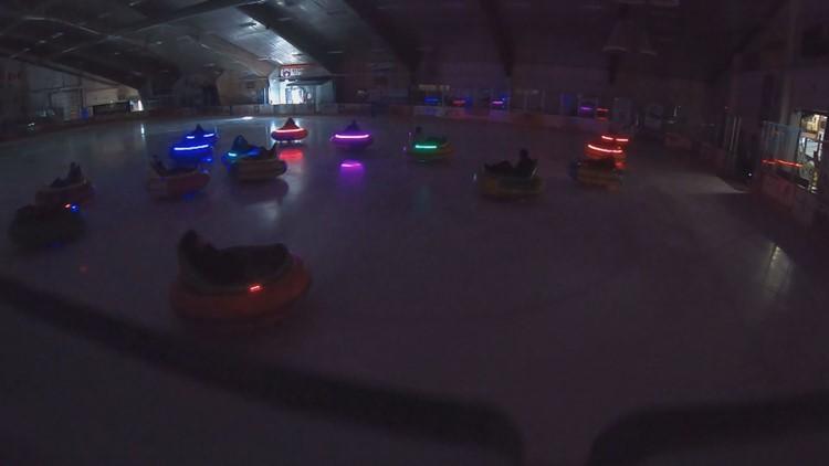 Ice bumper cars