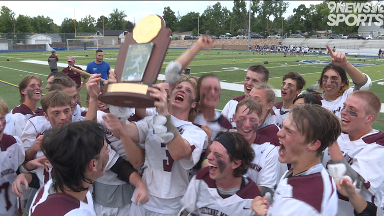 No. 1 Cheyenne Mountain uses fourth quarter rally over No. 2 Evergreen to claim 4A boys lacrosse state title