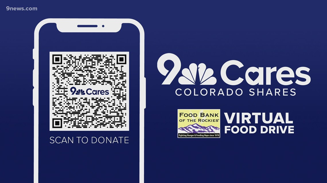 How to donate to 9Cares Colorado Shares food drive