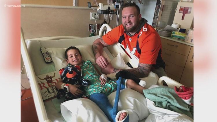 Hometown MVP: Broncos lineman Dalton Risner creating positive impact through foundation