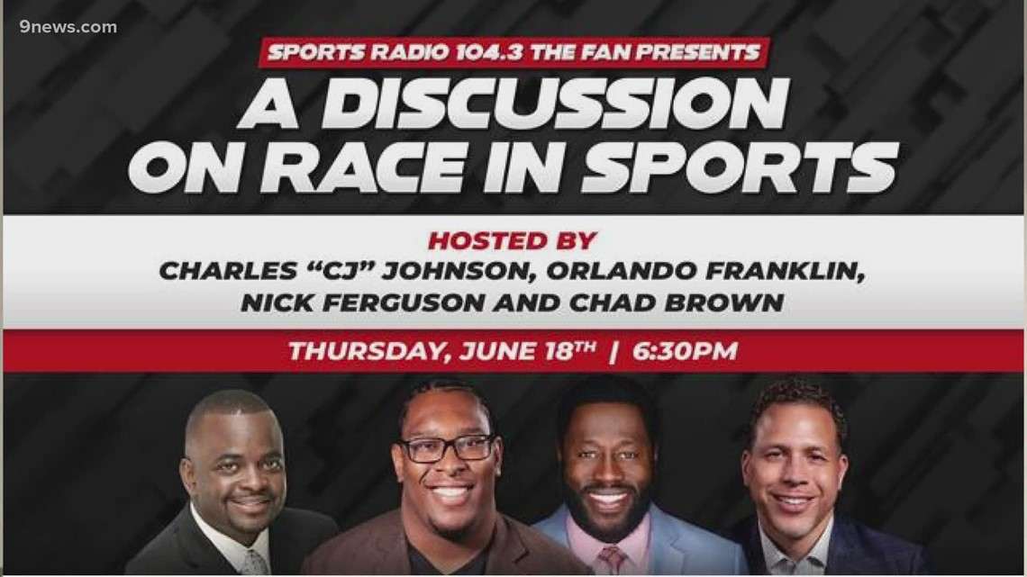 Racism in Sports: 104.3 The Fan host a panel discussion